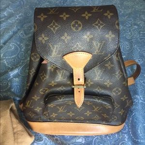 Authentic Louis Vuitton PM Backpack
